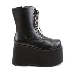 ff1c853833a69 Mens Platform Monster Frankenstein Lace Up Boots NWT